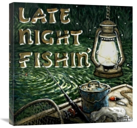 Janet Kruskamp - Late Night Fishing