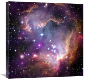 NASA - Under the Wing of the Small Magellanic Cloud