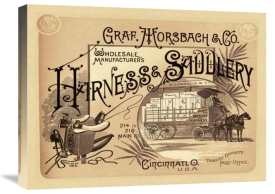 Unknown - Saddles and Tack:  Graf, Morsbach and Co. Harness and Saddlery Catalog Cover