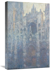 Claude Monet - The Portal of Rouen Cathedral in Morning Light