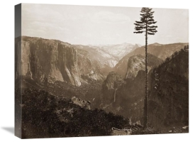 Carleton Watkins - Yosemite Valley from the Best General View, 1866