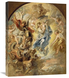 Peter Paul Rubens - The Virgin as the Woman of the Apocalypse