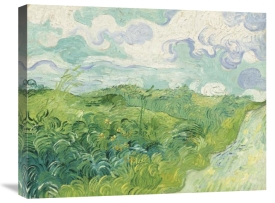 Vincent van Gogh - Green Wheat Fields, Auvers, 1890
