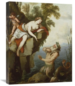 Laurent de La Hyre - Glaucus and Scylla