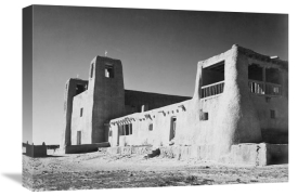 Ansel Adams - Church, Acoma Pueblo, New Mexico - National Parks and Monuments, ca. 1933-1942