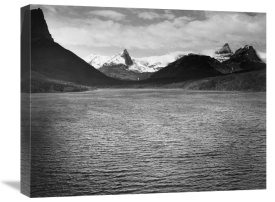 Ansel Adams - St. Mary's Lake, Glacier National Park, Montana - National Parks and Monuments, 1941