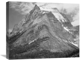 Ansel Adams - Going-to-the-Sun Mountain, Glacier National Park, Montana - National Parks and Monuments, 1941