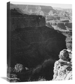 Ansel Adams - Grand Canyon South Rim - National Parks and Monuments, 1941