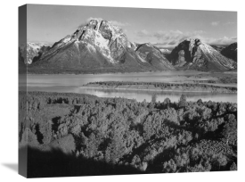 Ansel Adams - View toward Mount Moran, Grand Teton National Park, Wyoming, 1941