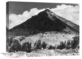 Ansel Adams - Pinchot Pass, Mt. Wynne, Kings River Canyon,  proposed as a national park, California, 1936
