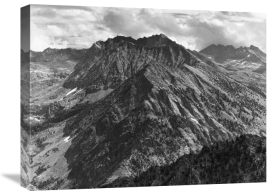 Ansel Adams - From Windy Point, Middle Fork, Kings River Canyon, proposed as a national park, California, 1936