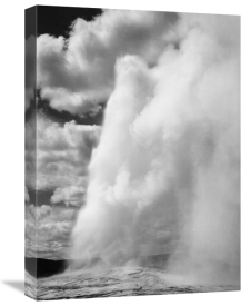 Ansel Adams - Old Faithful, Yellowstone National Park, Wyoming, ca. 1941-1942