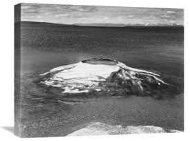 Ansel Adams - The Fishing Cone - Yellowstone Lake, Yellowstone National Park, Wyoming, ca. 1941-1942