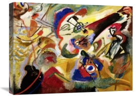 Wassily Kandinsky - Fragment II for Composition VII