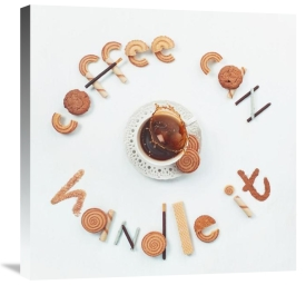 Dina Belenko - Food Lettering: Coffee Can Handle It