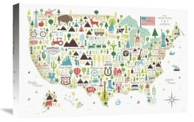 Michael Mullan - Illustrated USA
