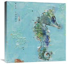 Kellie Day - Little Seahorse Blue