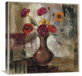Silvia Vassileva - Poppies in a Copper Vase II