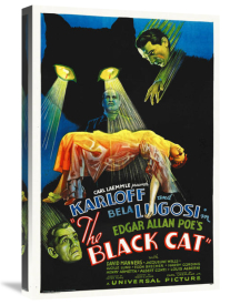 Hollywood Photo Archive - Black Cat Poster,  1934