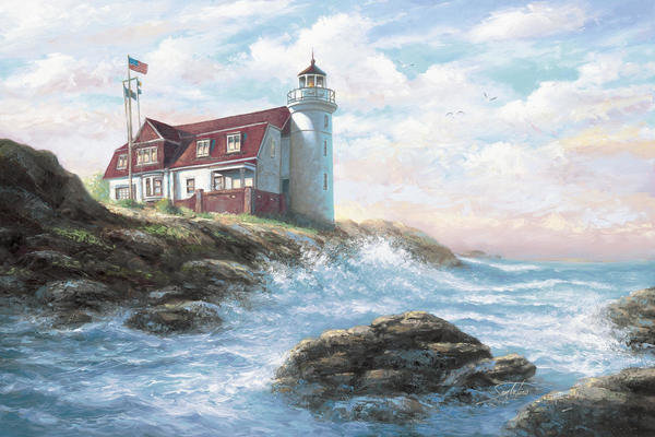 Lighthouses Collection In Living Room