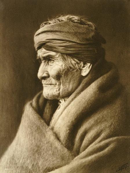 Edward S Curtis Geronimo Apache Art Print Global