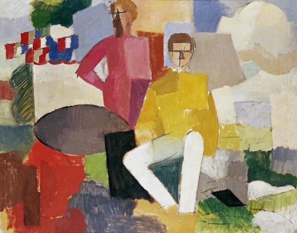 Roger De La Fresnaye The Fourteenth Of July Art Print