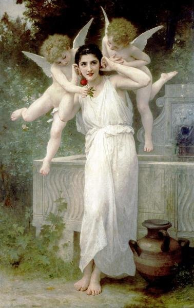 William Adolphe Bouguereau L Innocence Art Print