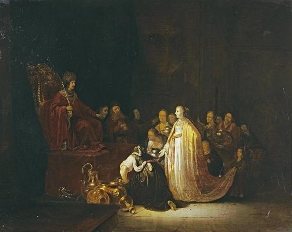 Jacob Willemsz De Wet The Queen Of Sheba Before King