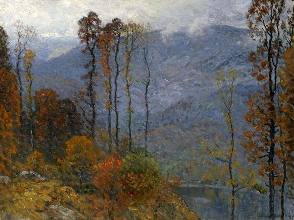 John Joseph Enneking Mount Chocorua Art Print Global