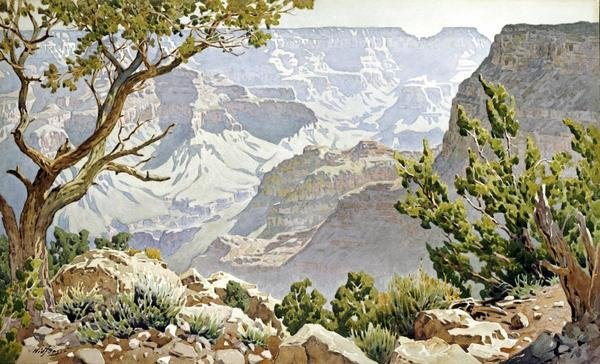 Gunnar Widforss Grand Canyon Art Print Global Gallery