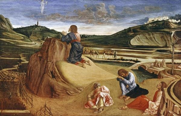 Giovanni Bellini - Agony In The Garden - Art Print ...