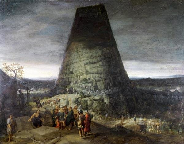 Pieter Bruegel The Younger Tower Of Babel Art Print