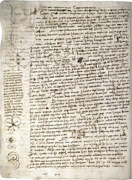 Leonardo Da Vinci Codex Leicester Science Of Waves