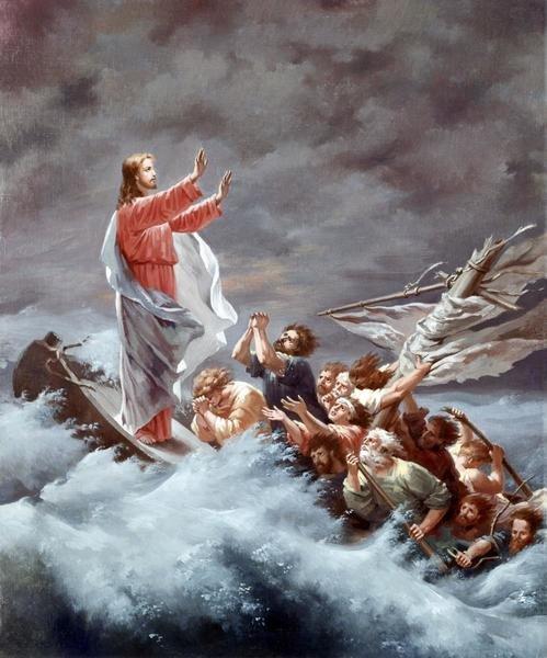 Christian W E Dietrich Christ Stilling The Tempest