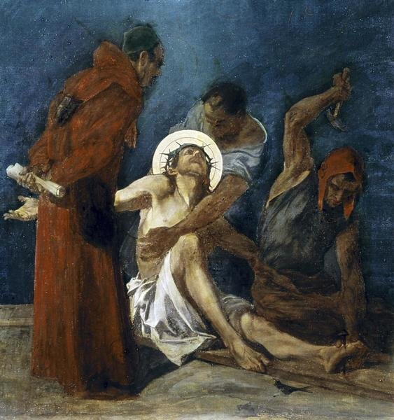 Martin Feuerstein Jesus Is Nailed To The Cross 11th