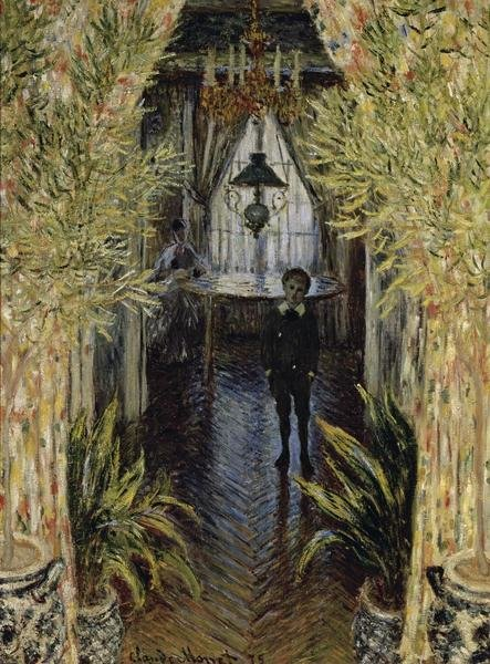 Claude Monet A Corner Of The Apartment Art Print