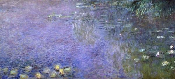 Claude Monet Water Lilies Morning C 1914 26 Center