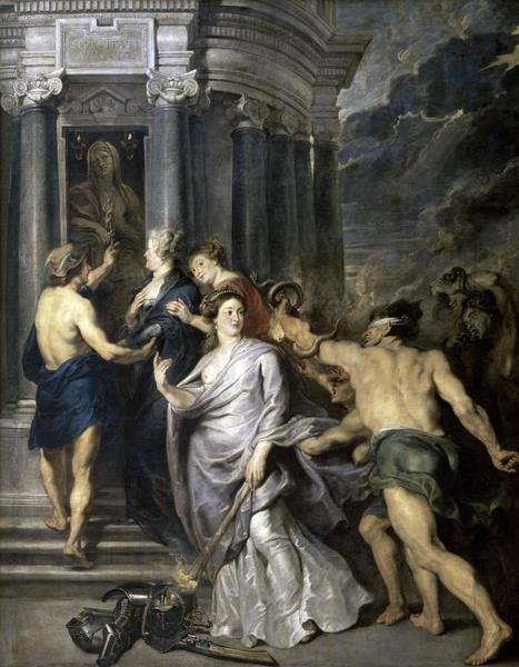 Peter Paul Rubens Peace Of Angers Life Of Marie De