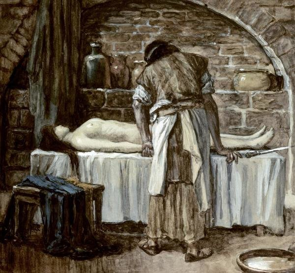 James Tissot Levite Before The Corpse Of His Wife Art