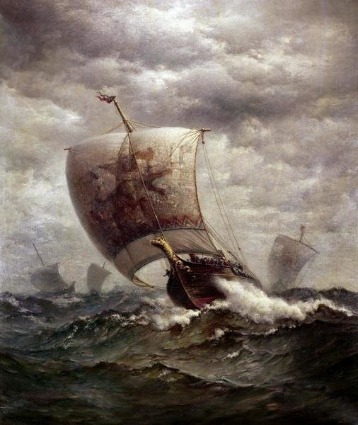 Famous Sailing Ships Paintings