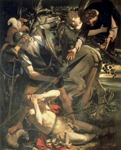 Caravaggio Conversion Of St Paul Art Print Global