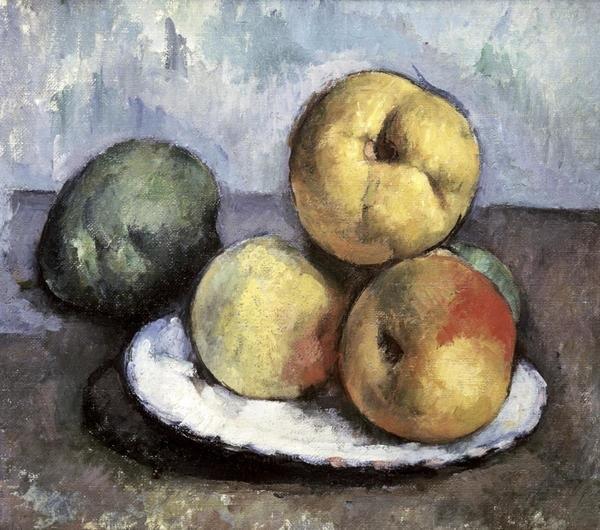Paul Cezanne Still Life With Apples Amp Peaches Art