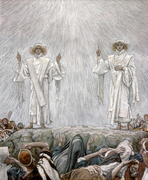 James Tissot The Ascension Art Print Global Gallery