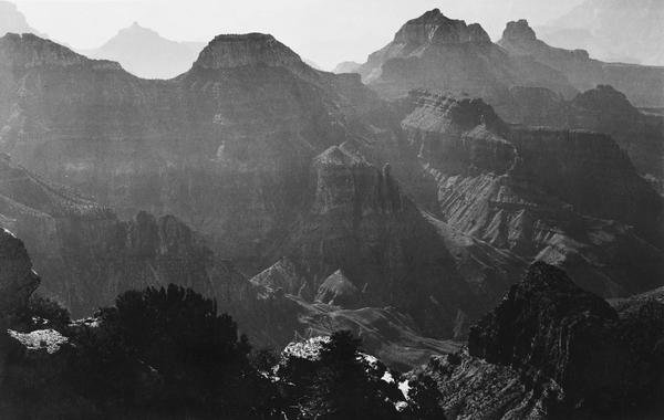 Ansel Adams Grand Canyon National Park Arizona