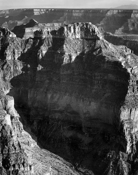 Ansel Adams View From North Rim Grand Canyon National